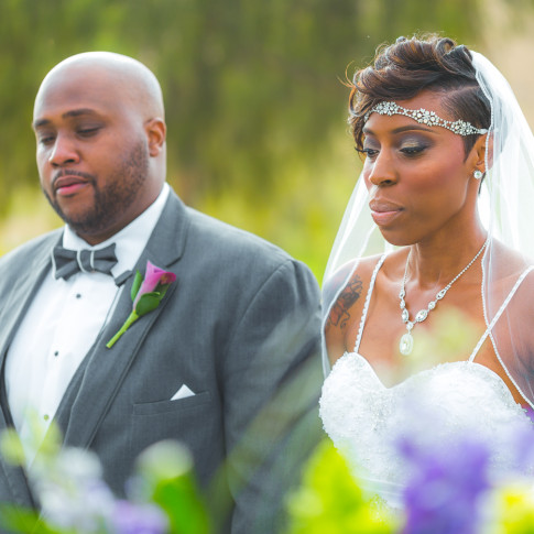 Amazing Bride and Groom about to get Married