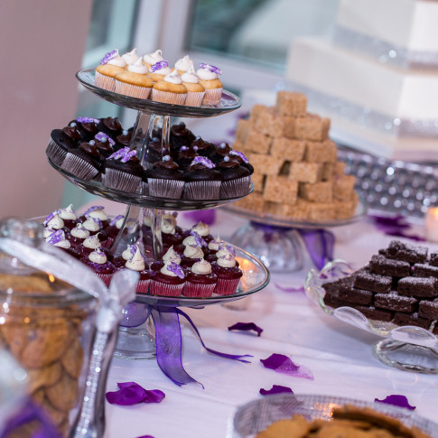 Wedding Dessert Table at Hidden Valley Golf Course