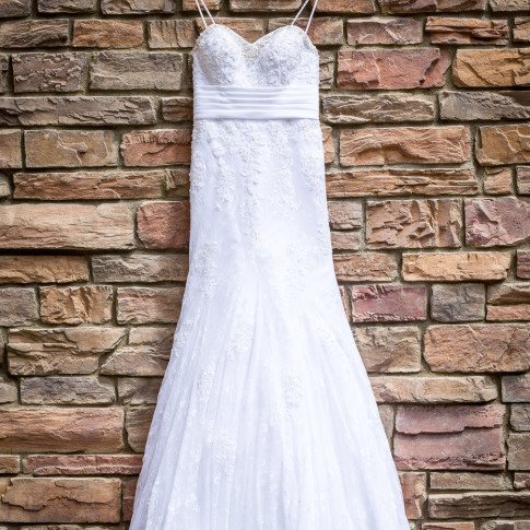 Beautiful Wedding Dress for Corona, California Wedding