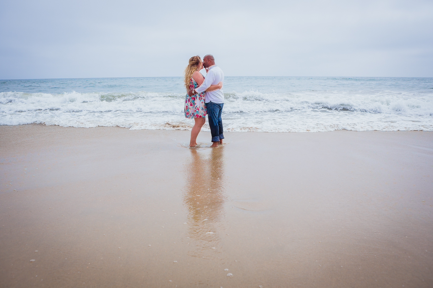 Amazing Huntington beach engagement photo