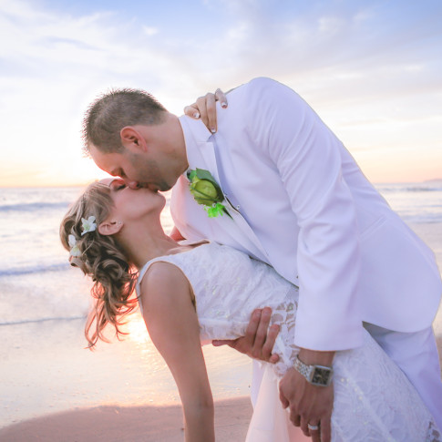 Amazing beach wedding photography at San Clemente Beach. Finally Forever Photography