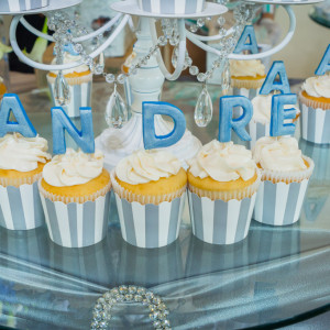 Bar mitzvah cup cakes in orange county