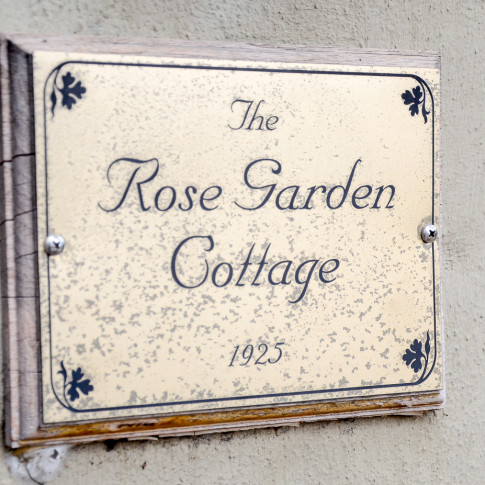 The rose garden cottage at the Pierpont Inn in Ventura, CA. Finally Forever Photography