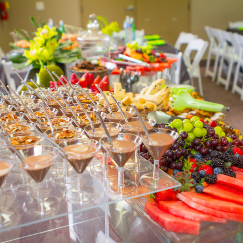 Beautiful desert table at bar mitzvah